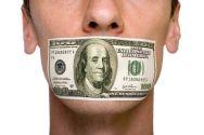 money censors shut up