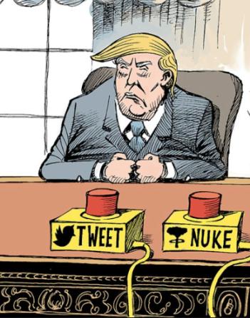 tweet trump nukes