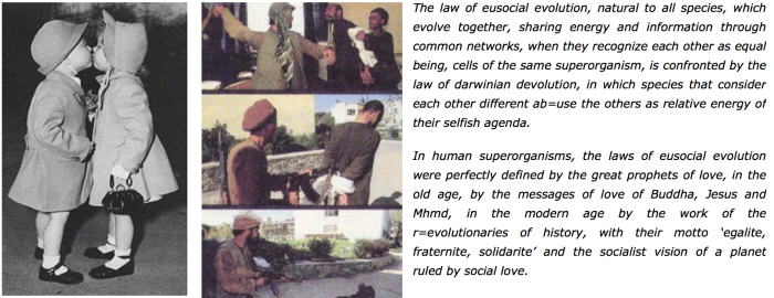 SOCIAL EVOLUTION love vs. evil